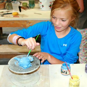 Making Clay Animal