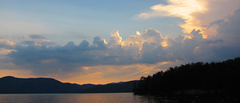 North Carolina Mountain Lake