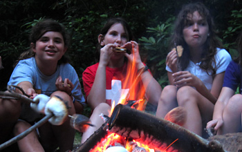 Kids Outdoor Adventure Campfire