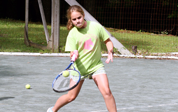 Tennis Camp Games