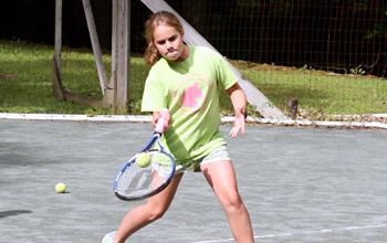 Tennis Camp Games