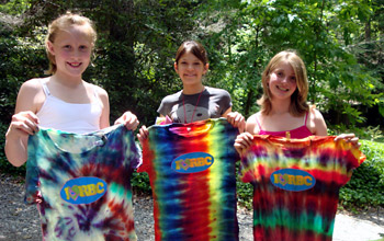 Camp Tie Dye Crafts Projects