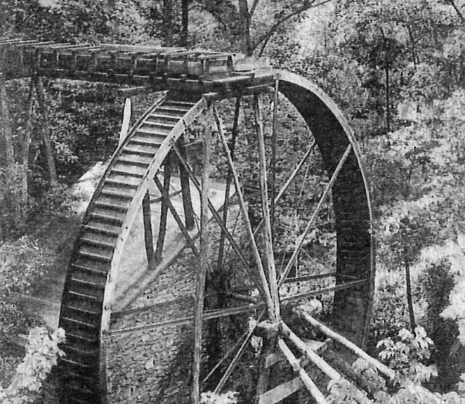 Rockbrook Camp Water Wheel