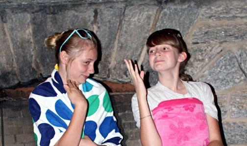 Summer Girls Acting