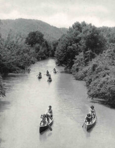 French Broad River Canoe Trip