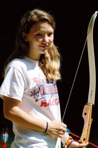 Summer Camp Archery Girl