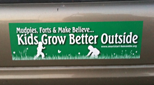 Kids Grow Better Outside