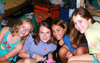 Cabin Girls Homesick at Camp