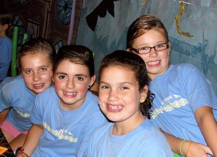 Kids Camp Friends