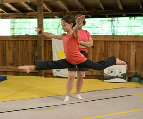 Gymnastics Girl Camper