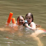 Swimming for kids at summer camp