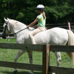 Riding Equestrian Girls Camp