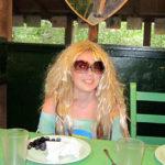 Dressed up Summer Camp Girl