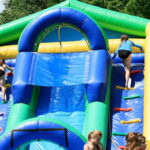 Camp Game Water Slide