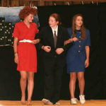 Kids Annie musical performance and play