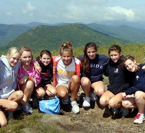 Girls Camp Community Togetherness