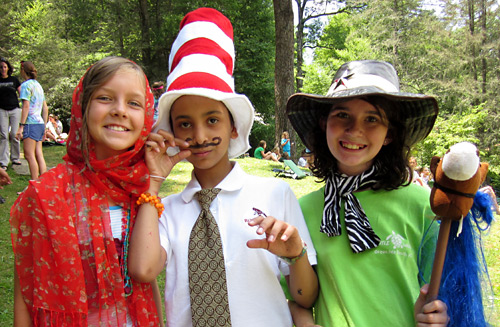 Circus dress up costumes for girls camp