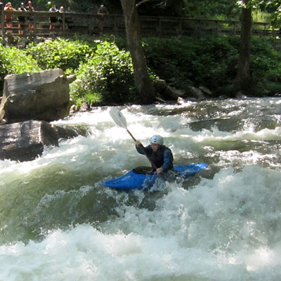 Nantahala River Kayaking Camp Kid