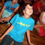 Silly camp game for children