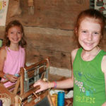Kid Weaving Camp Projects