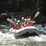Camps whitewater adventure rafting trip