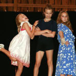 summer camp drama production of Annie