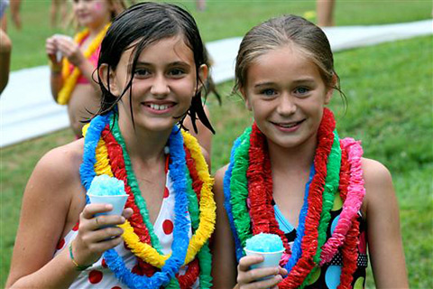 childrens camps carnival scene
