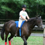 Girl Summer Camp Horseback riding