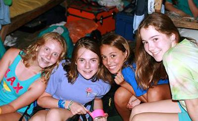 cabin mates girls friendships at summer camp