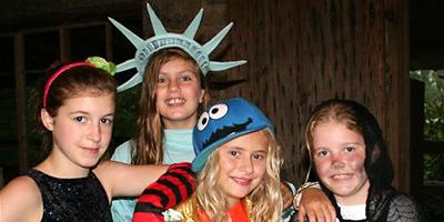 summer camps halloween kids