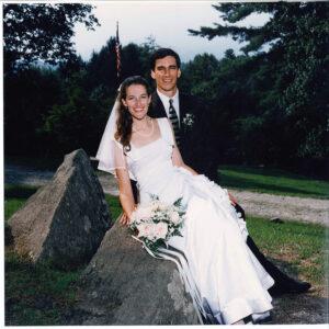 Camp directors wedding photo carter