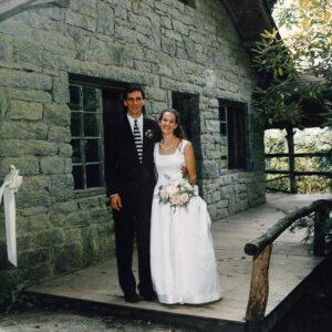 Wedding photos of the carters directors of Rockbrook