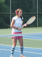 Summer Camp Tennis Player