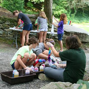 tie dye summer camps