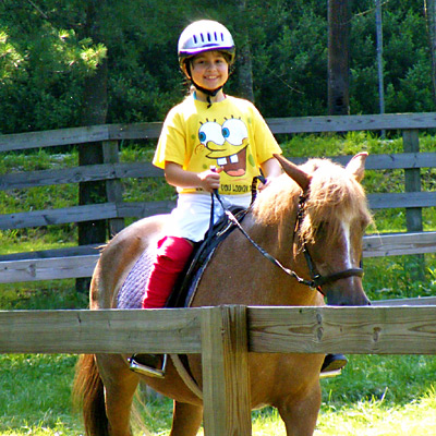 Equestrian Camp Program Riding