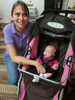Future Rockbrook camper Mirabelle Buchanan visits camp