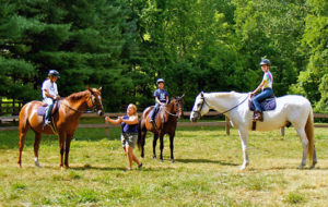 Girls Camp Riding Class