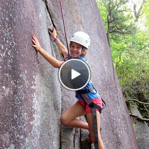 Camp Rock Climbing Video