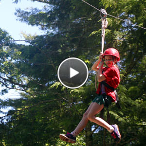 Camp Zip Lining Video