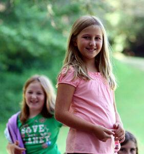 Children Enjoy Being Outdoors