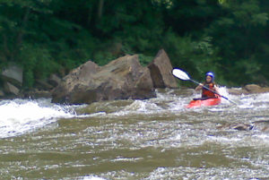 Teen Whitewater Kayaking Adventure