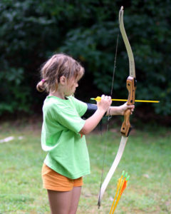 Young Girls Archery