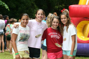 Girls camp outerspace carnival