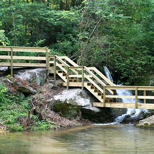 Waterslide Bridge Dock