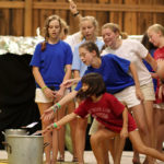 Campers perform play