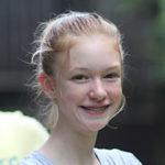 Smiling Camper girl