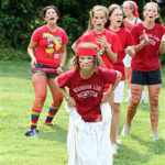 Camp Olympics Red team campers