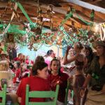 Dancing at camp safari banquet