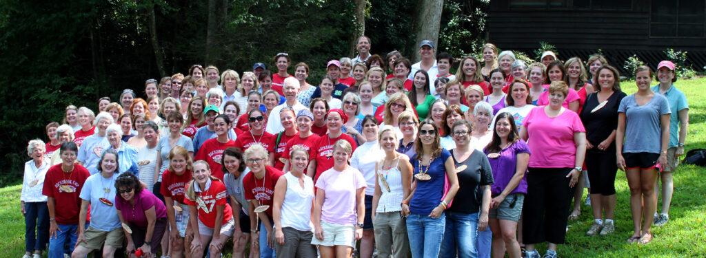 90th Camp Reunion Almunae Attendees