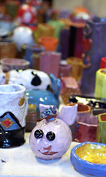 Camp Ceramics Colorful Examples